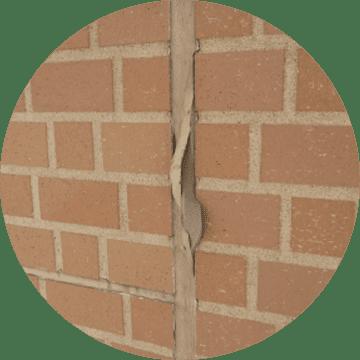 コーキング材の界面剥離